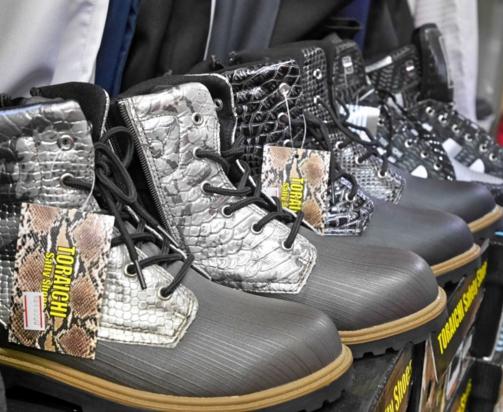 安全靴は戦国時代!?