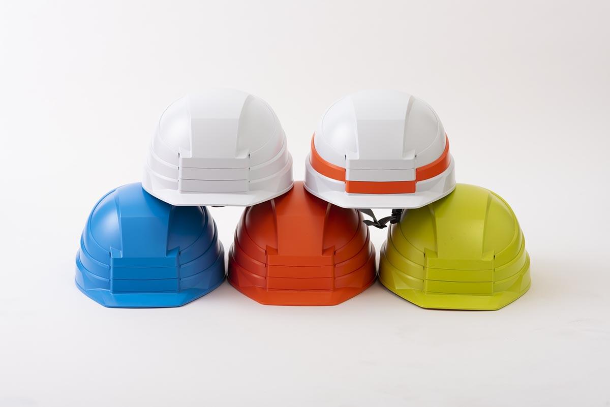 折りたためる!?カラフルで、ブロックみたいな可愛いヘルメット